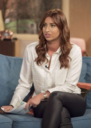 Ferne McCann - This Morning TV Show in London