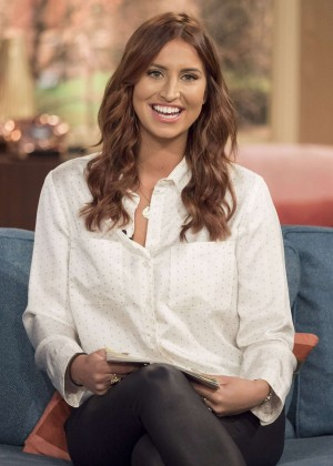 Ferne McCann - 'This Morning' TV Show in London