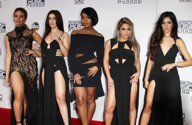 Fifth Harmony - 2016 American Music Awards in Los Angeles