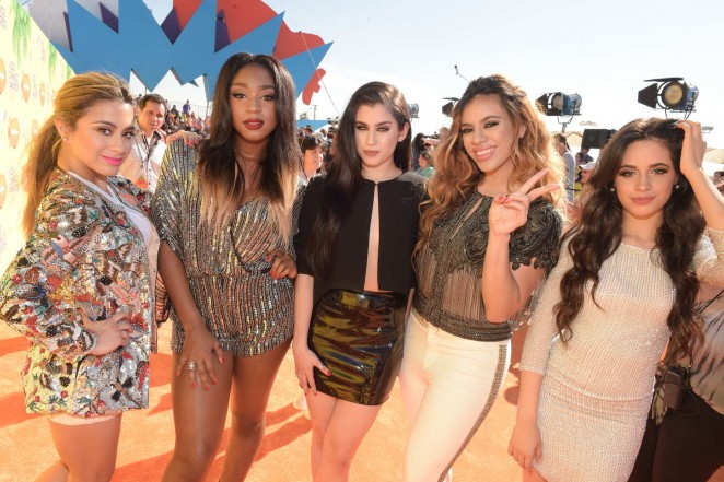 Fifth Harmony - Nickelodeon Kids Choice Awards 2015 in Inglewood