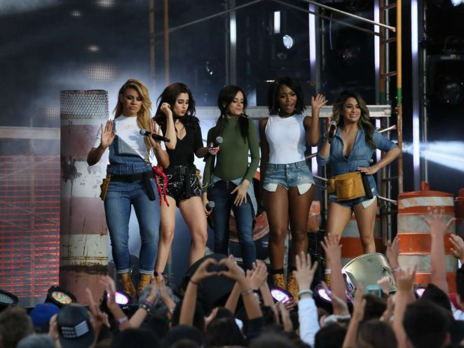 Fifth Harmony - Performing at 'Jimmy Kimmel Live' in Los Angeles