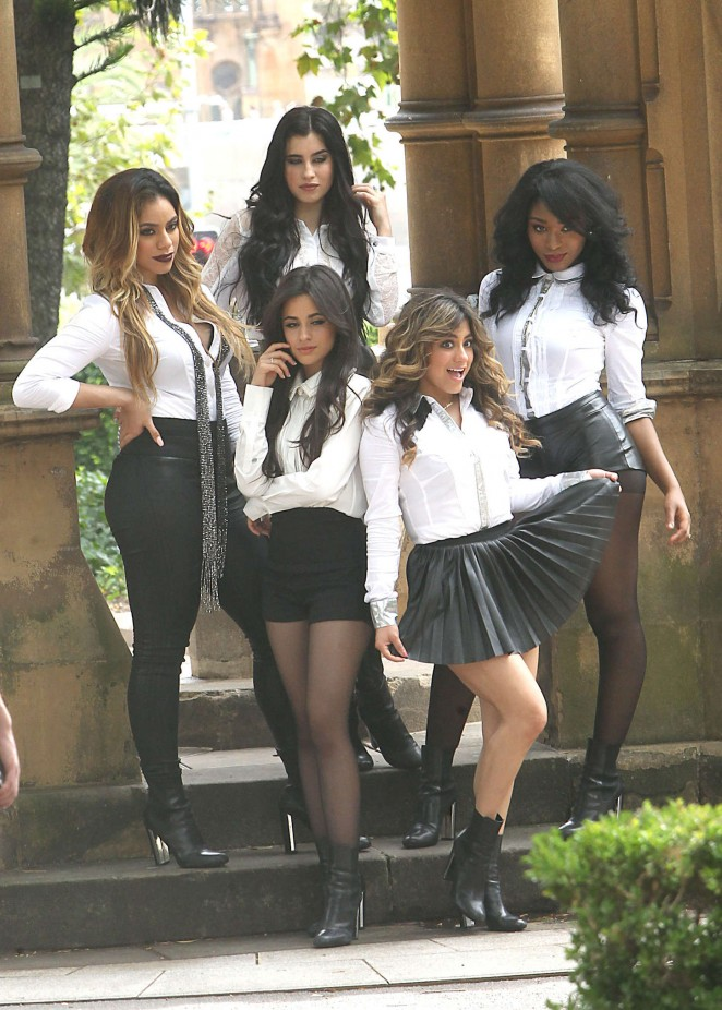 Fifth Harmony: Photoshoot in Surry Hills -12 - GotCeleb