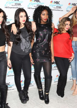 Fifth Harmony - Visiting the NBC Experience Store in New York City