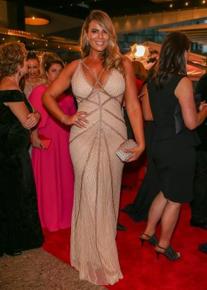 Fiona Falkiner - 2017 Annual TV Week Logie Awards in Melbourne
