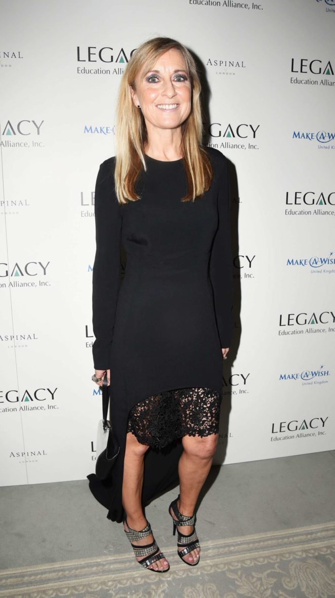 Fiona Phillips - Make A Wish Sports Ball in London