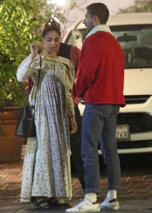 FKA Twigs and Shia LaBeouf - Out for a Christmas Eve dinner in Los Feliz