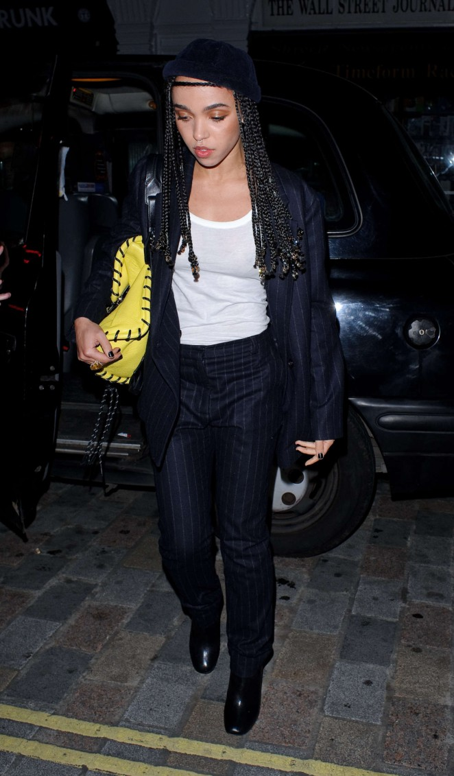 FKA Twigs at Chiltern Firehouse in London