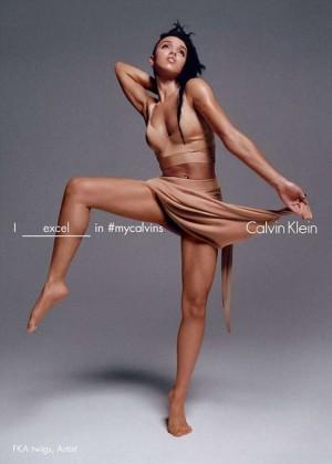 FKA Twigs - Calvin Klein Spring 2016