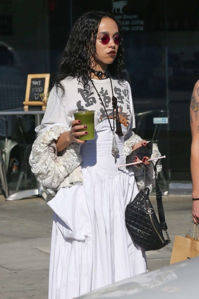 FKA Twigs with friend out in Los Angeles