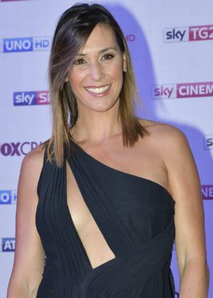 Flavia Pennetta - Sky Upfront TV presentation in Milan - Italy