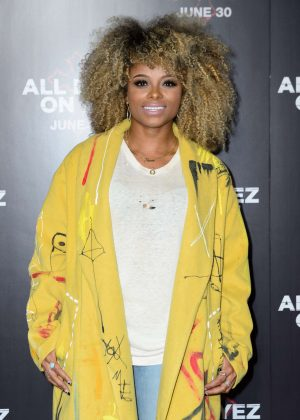 Fleur East - 'All Eyez On Me' Premiere in London