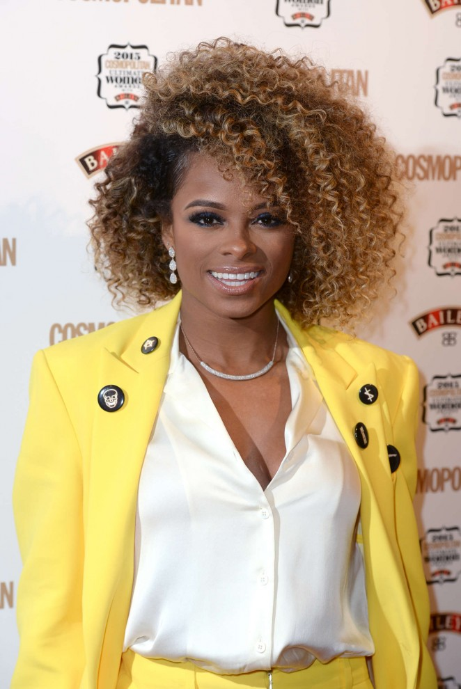 Fleur East - Cosmopolitan Ultimate Women Of The Year Awards 2015 in London