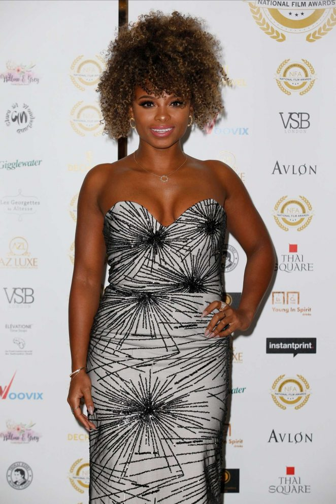 Fleur East - National Film Awards 2018 in London