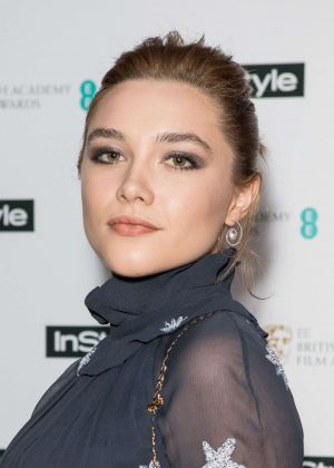 Florence Pugh - 2018 InStyle EE Bafta Rising Star Party in London