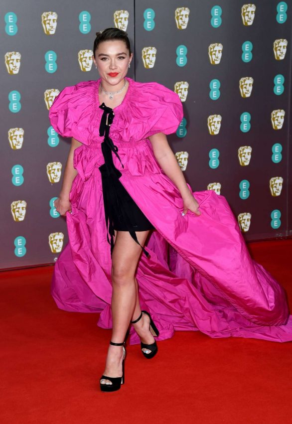 Florence Pugh - 2020 British Academy Film Awards in London