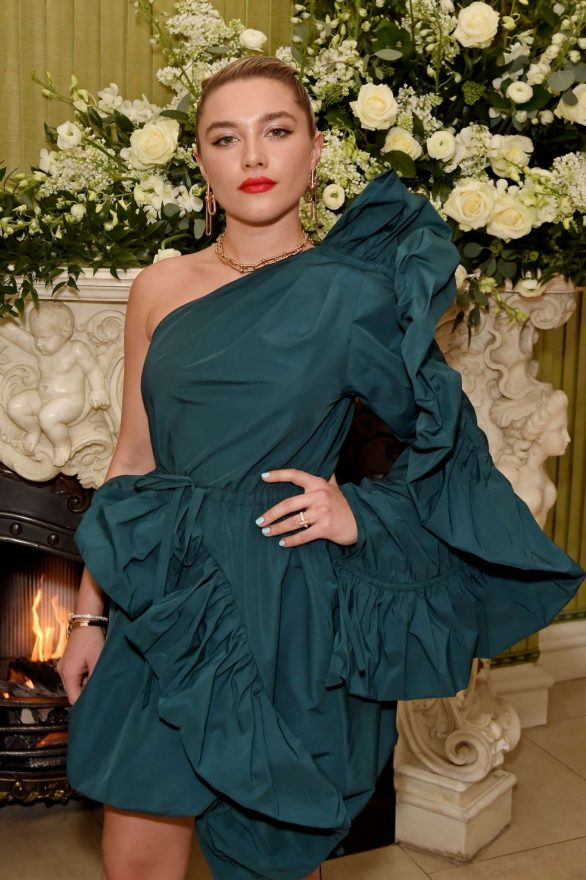 Florence Pugh - 2020 British Vogue and Tiffany Fashion and Film Party in London