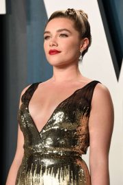 Florence Pugh - 2020 Vanity Fair Oscar Party in Beverly Hills
