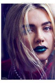 Florence Pugh - Glamour Espana Magazine (December 2019)