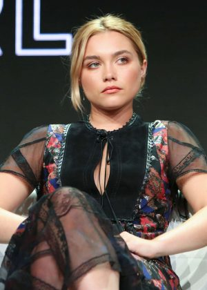 Florence Pugh - 'Little Drummer Girl' TV Show Panel at 2018 TCA Summer Press Tour in LA