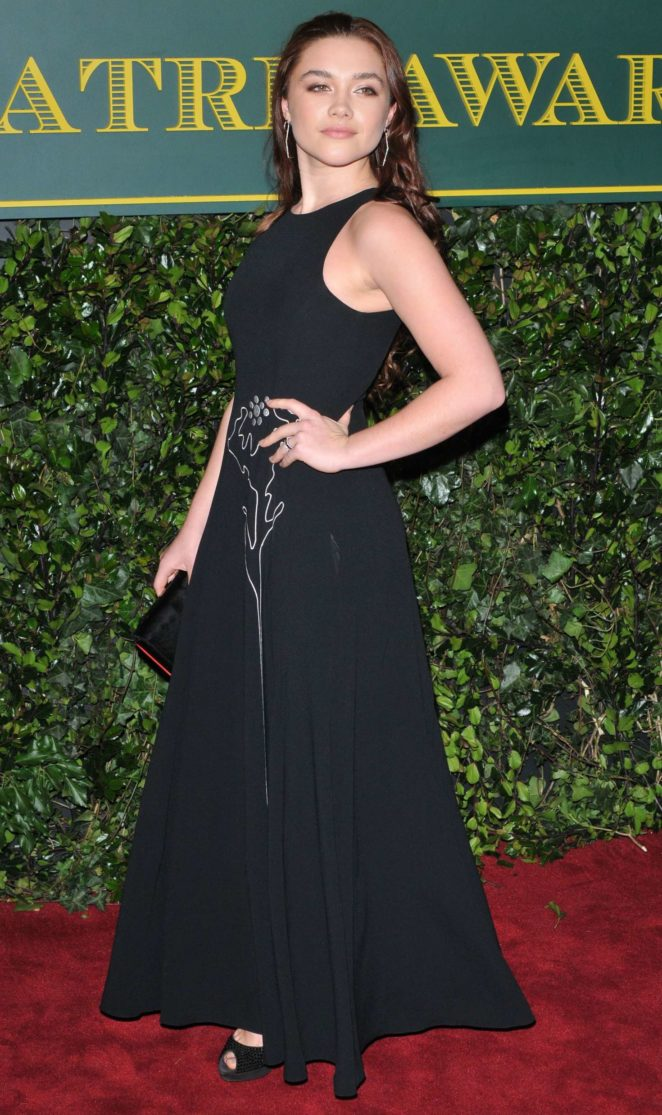 Florence Pugh - London Evening Standard Theatre Awards 2017 in London