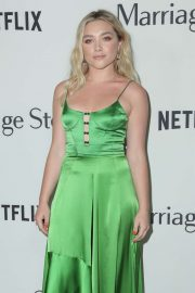 Florence Pugh - 'Marriage Story' Premiere in Los Angeles