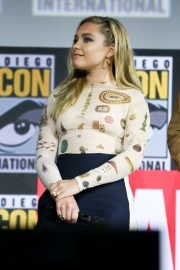 Florence Pugh - Marvel Panel at Comic Con San Diego 2019