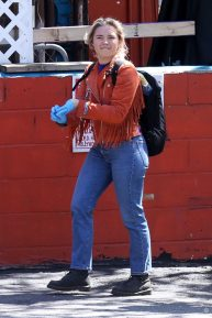 Florence Pugh - Out with her boyfriend Zach Braff in Los Angeles