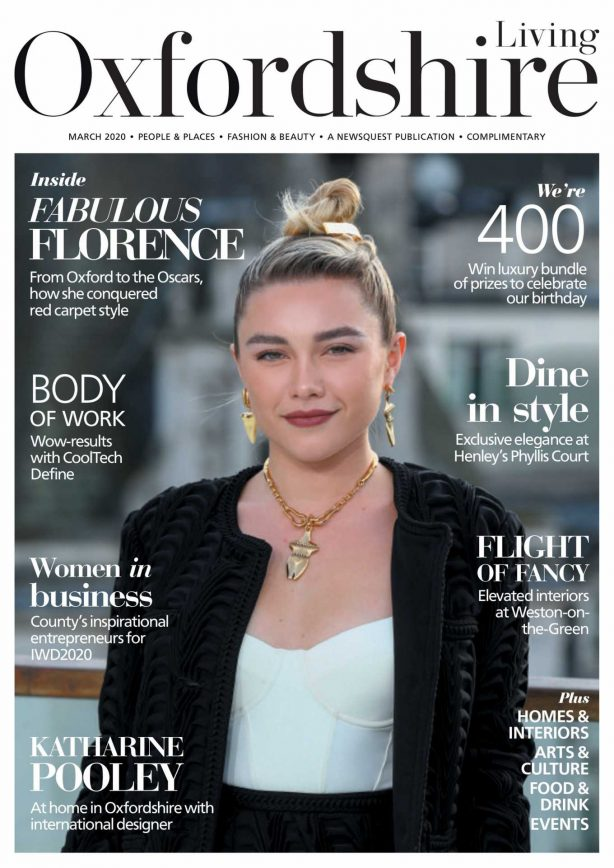 Florence Pugh - Oxfordshire Limited Edition (March 2020)