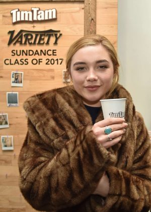 Florence Pugh - Variety Studio at 2017 Sundance Presented by TimTam in Utah