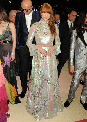Florence Welch - 2016 Met Gala in NYC