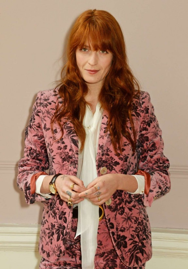 Florence Welch - Gucci Timepieces And Jewelry Press Conference in London