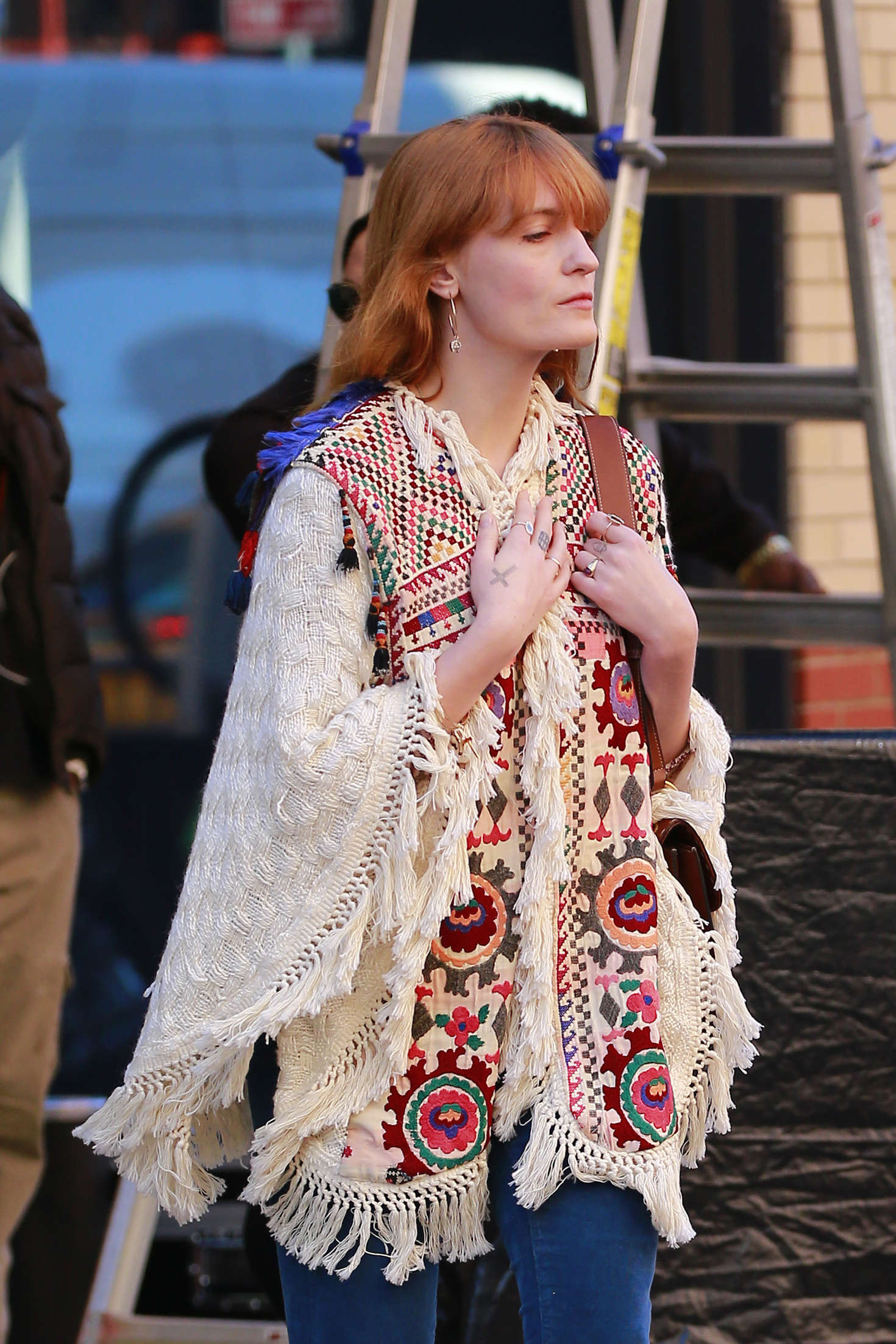 Florence Welch - Out and about in New York City