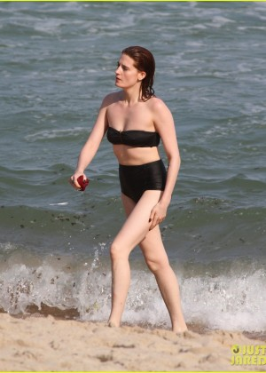 Florence Welch: wearing a bikini at a waterfall in Brazil-12