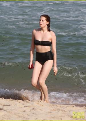 Florence Welch - wearing a bikini at a waterfall in Brazil