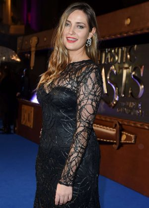 Fran Newman-Young - 'Fantastic Beasts and Where To Find Them' Premiere in London