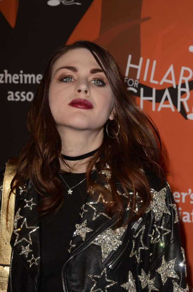Frances Bean Cobain: 5th Annual Hilarity for Charity Variety Show -05