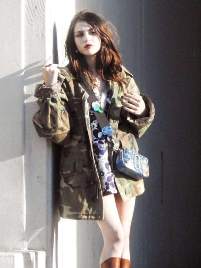 Frances Bean Cobain - Marc Jacobs Shoot Campaignin in LA