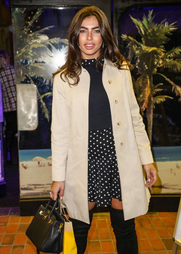 Francesca Allen - Gabby Allen's SportFX Clothing Line Launch in London