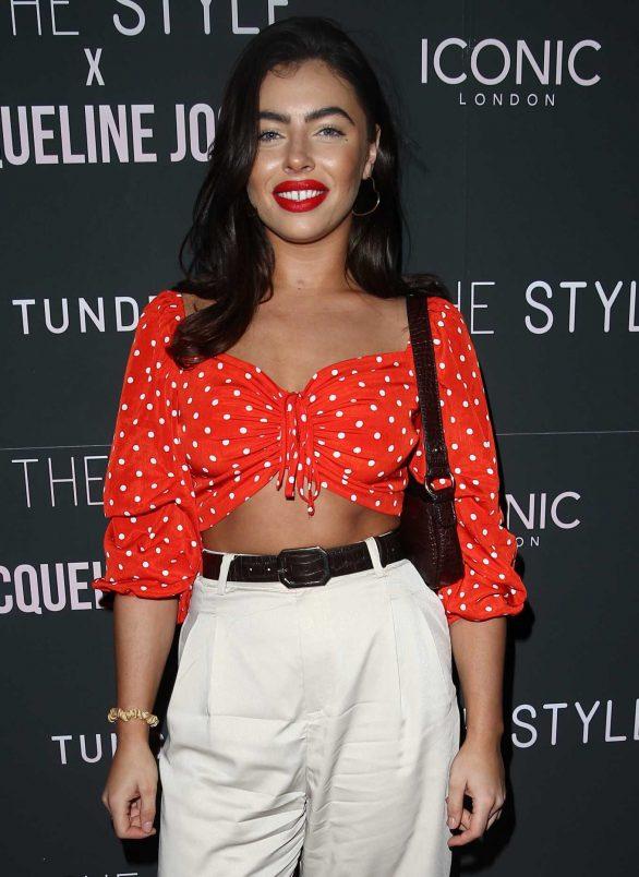 Francesca Allen - In The Style x Jacqueline Jossa Launch Party in London