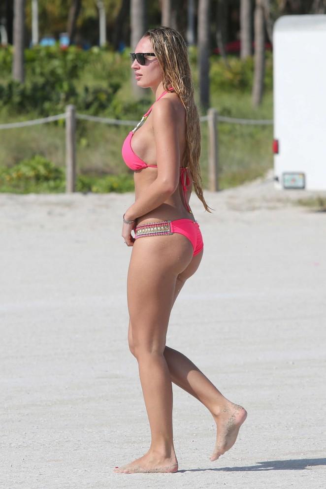 Francesca Brambilla – Bikini Candids in Miami-07