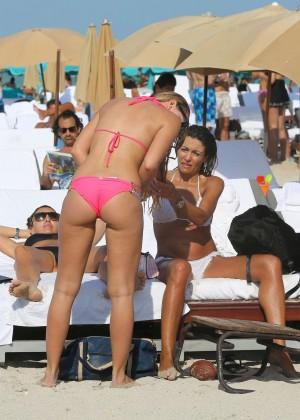 Francesca Brambilla – Bikini Candids in Miami-28