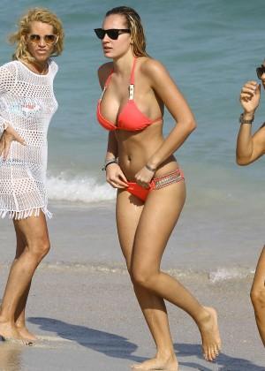 Francesca Brambilla – Bikini Candids in Miami-31
