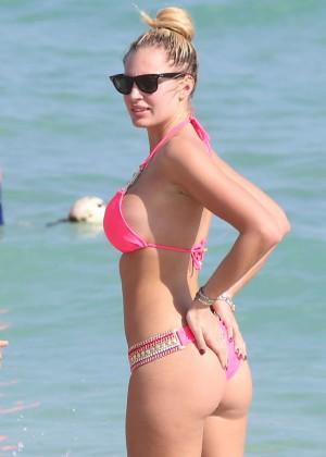 Francesca Brambilla – Bikini Candids in Miami-37