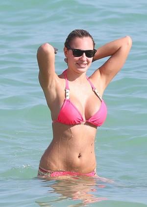 Francesca Brambilla – Bikini Candids in Miami-46
