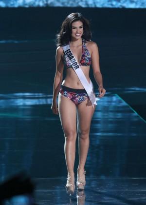 Francesca Cipriano - Miss Universe 2015 Preliminary Round in Las Vegas