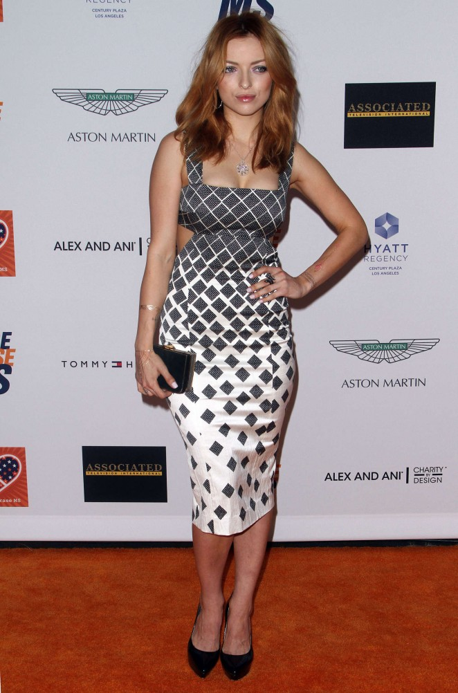 Francesca Eastwood – 22nd Annual Race To Erase MS Event in Century City