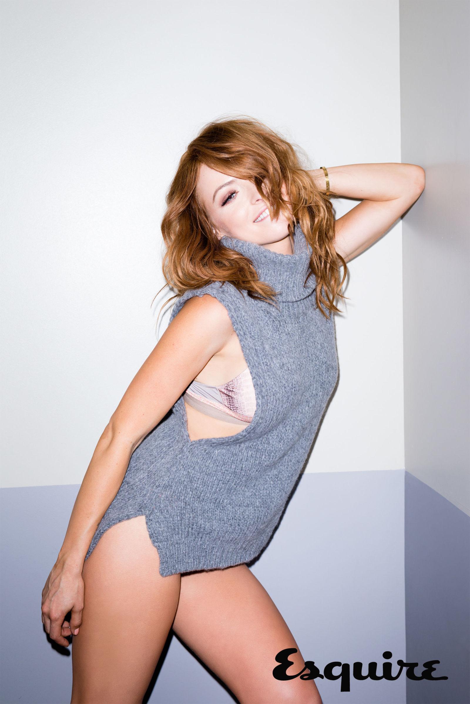 Francesca Eastwood - Esquire Magazine 2015