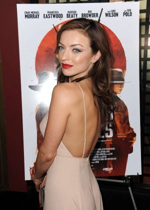 Francesca Eastwood - 'Outlaws and Angels' Premiere in Beverly Hills