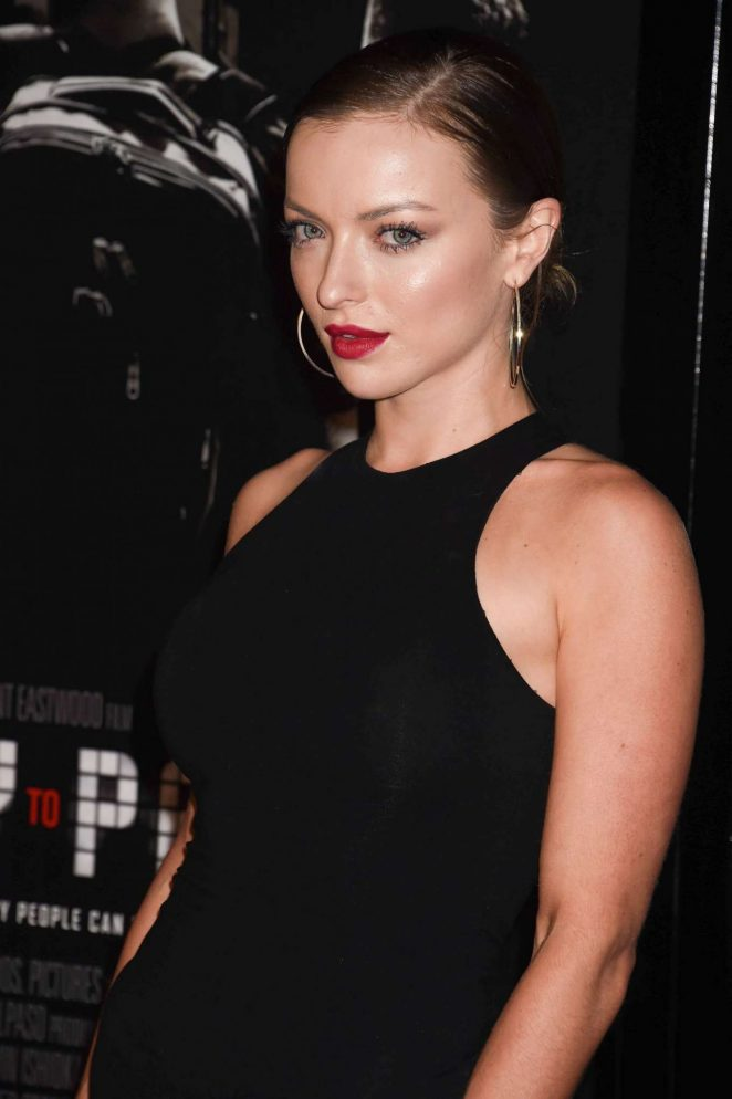 Francesca Eastwood – 'The 15:17 to Paris' Premiere in Burbank