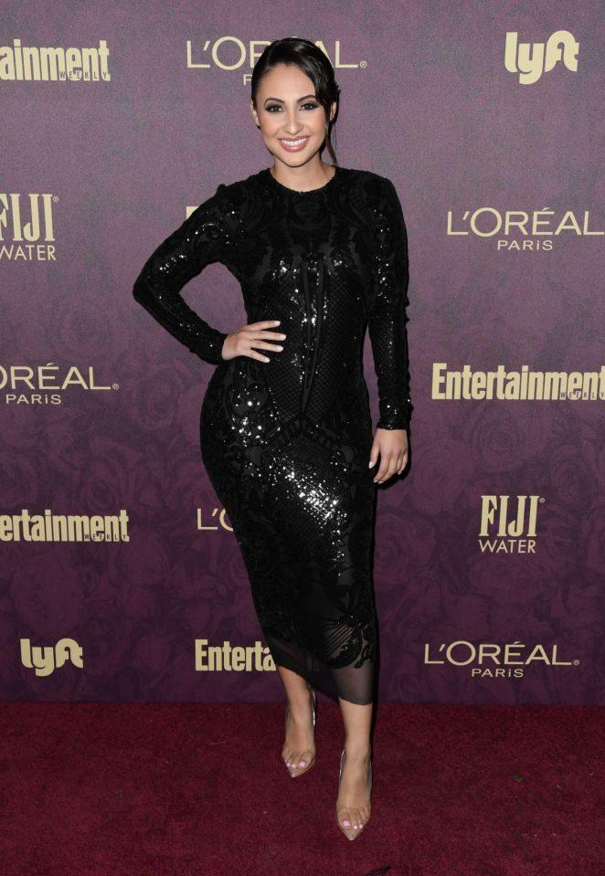 Francia Raisa - 2018 Entertainment Weekly Pre-Emmy Party in LA